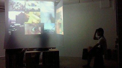 20110821『な裸べるだけ -6- CAMP MIX』展示風景